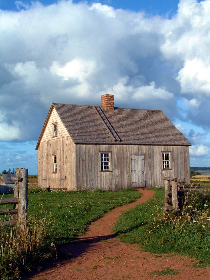 Doucet House Museum.  Rustico, Prince Edward Island. Image By Rediscovering Canada.