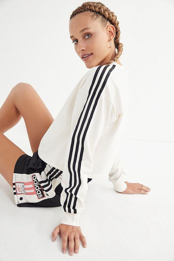 c89e94921eac Slide View  2  adidas Adibreak Cropped Sweatshirt