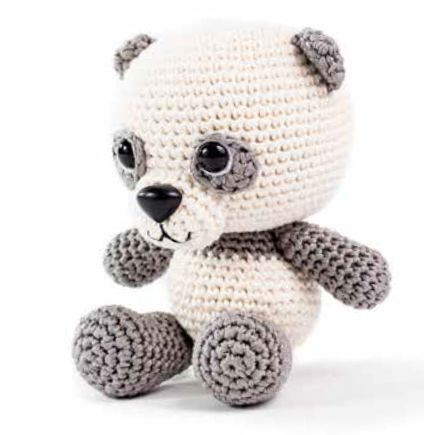 Po the panda crochet project shared on the LoveCrochet Communiy