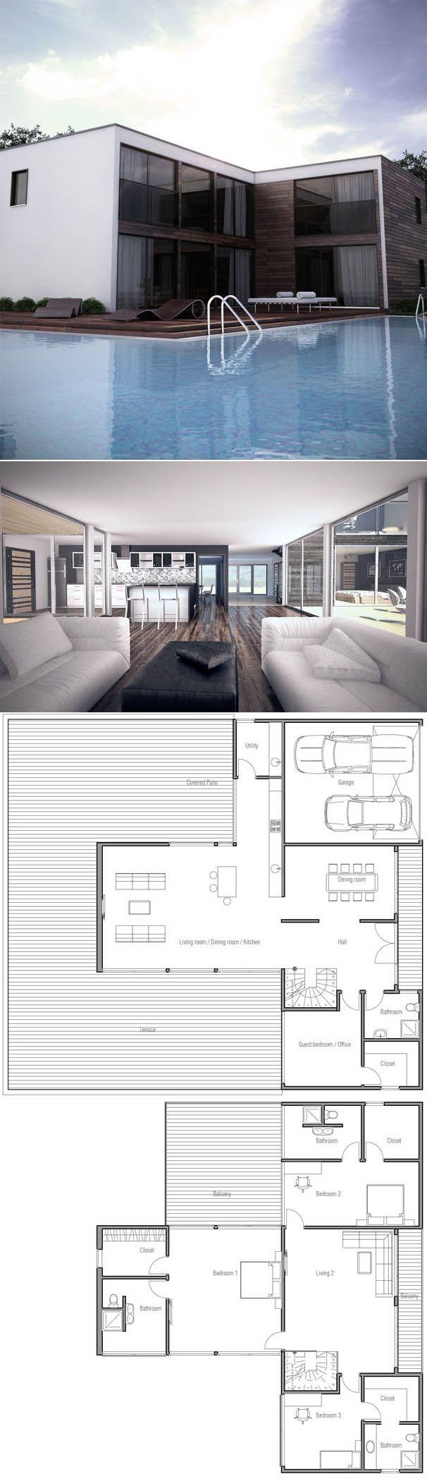 Casa Moderna, Planta de Casa