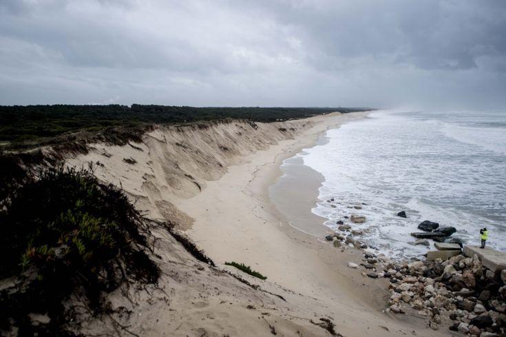 Preencher praias para conter a erosão costeira custa milhões ao estado   – TVP