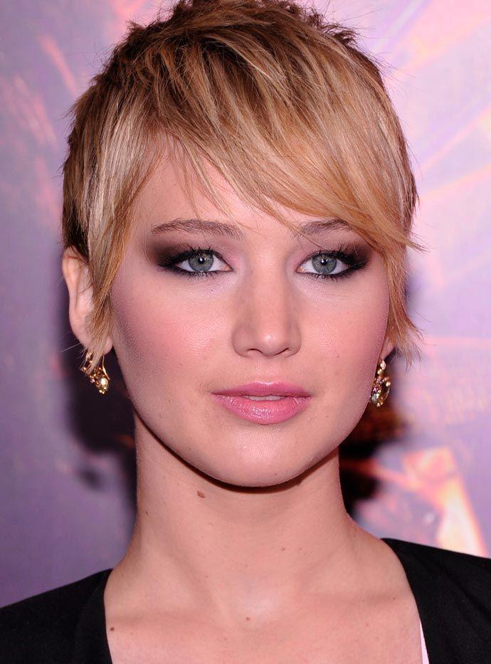 Maquiagem da Jennifer Lawrence por Helder Marucci