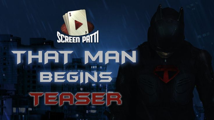 That Man Begins Official Teaser | #ScreenPatti