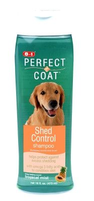 DOG GROOMING - SHAMPOOS & SOAP - EIGHT-IN-ONE SHED CONTROL SHAMPOO - TROPICAL MIST - 16 OZ - UPG-COMPANION ANML EDWRDSVILLE - UPC: 26851006367 - DEPT: DOG PRODUCTS