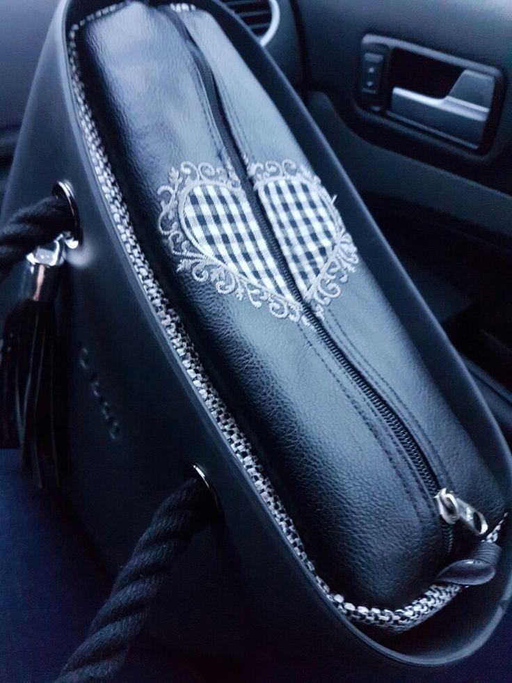 o bag, Hart, beautifull  handmade, mini obag