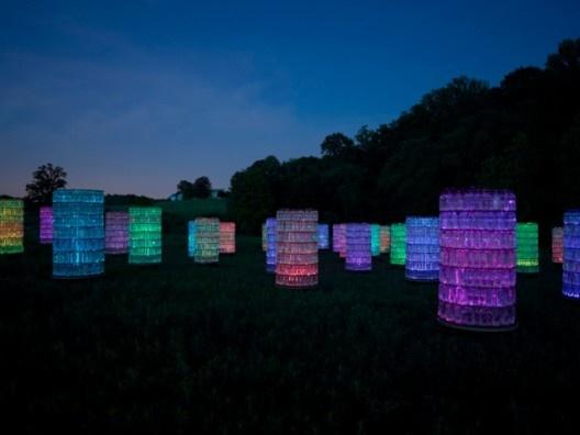 Puntos LED iluminan los Jardines de Longwood / Bruce Munro (6)