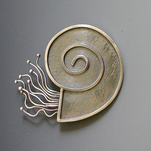 Sterling Silver Nautilas May Challenge http://duffydesigns.artspan.com