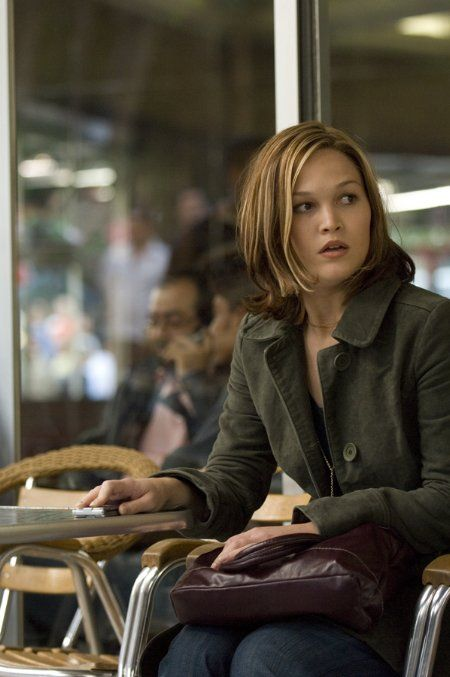 Julia Stiles as Nicky Parsons in the Bourne movies.