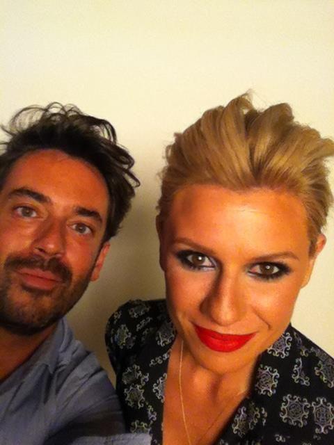 Katerina Karavatou Hair + make up by Panos Kallitsis