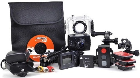 ActionPro Waterproof Camcorder. Capture the action while biking, skiing, surfing and more with this entire package! Only AUS $175.