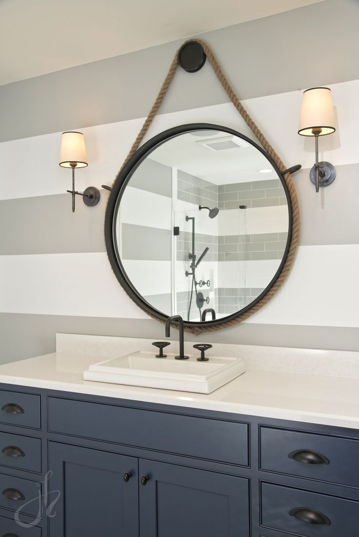 Kids Bathroom Mirror Decor
