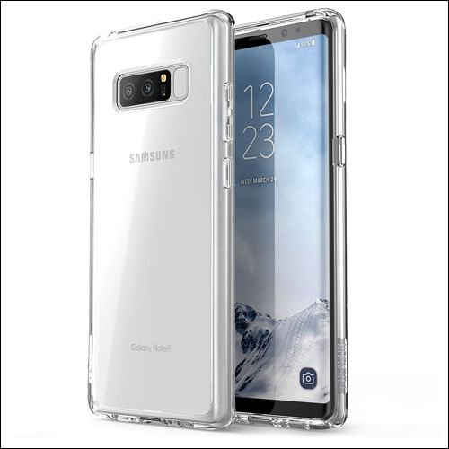 i-Blason Clear Case for Galaxy Note 8