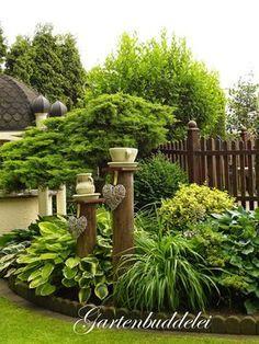 Bildergebnis Für Steinmauer Als Sichtschutz Im Garten | Cegła | Pinterest |  Gardens, Patios And Flowers Garden