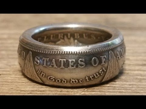 This is my latest how to video for making Morgan dollar coin rings. Brought to you by www.changeyoucanwear.net
