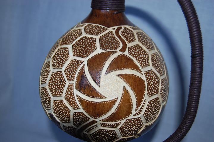 Handmade Gourd Lamps by Robert Dziura — designose.com
