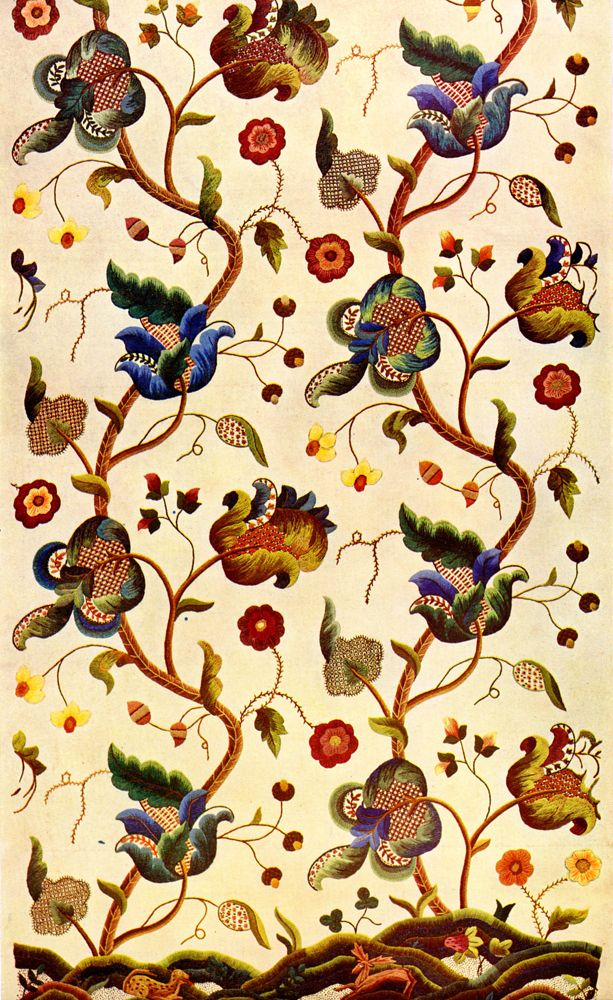 Best ideas about jacobean embroidery on pinterest