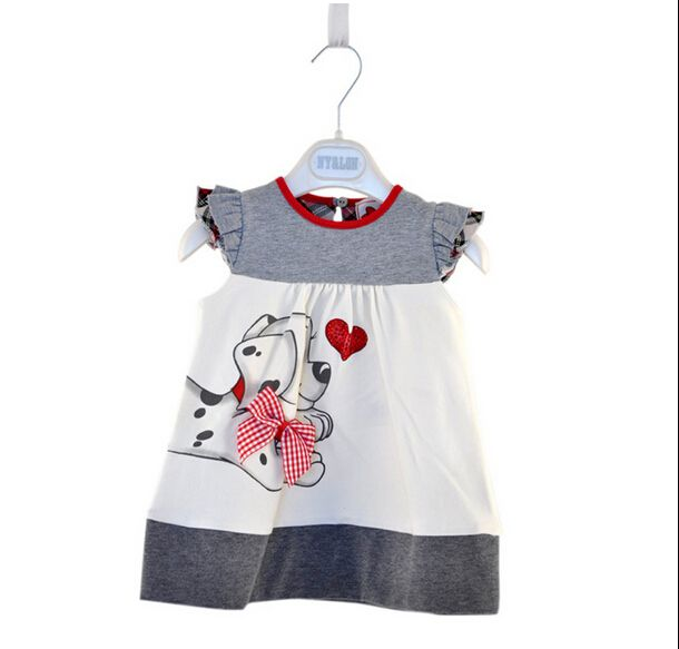 Baby Girls Toddlers A-Line Dress Girls Kids One-pieces Dress Clothe baby girls dress dog print cute clothing for girls #>=#>=#>=#>=#> Click on the pin to check out discount price, color, size, shipping, etc. Save and like it!