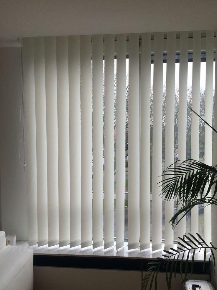 Verticale lamellen interieur decoratie raamdecoratie realisatie - Gordijnen interieur decoratie ...