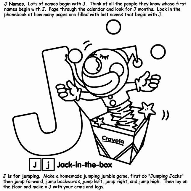 Letter J Coloring Page Fresh Alphabet J Coloring Pages Ladybug Coloring Page Lettering