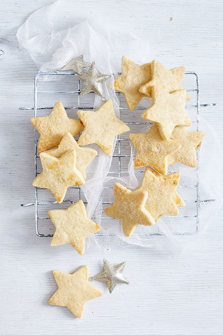 You'll never be short on snacks with these tasty stars. Make a big batch and just pop them in the oven to serve alongside your next cuppa or high-tea with friends.