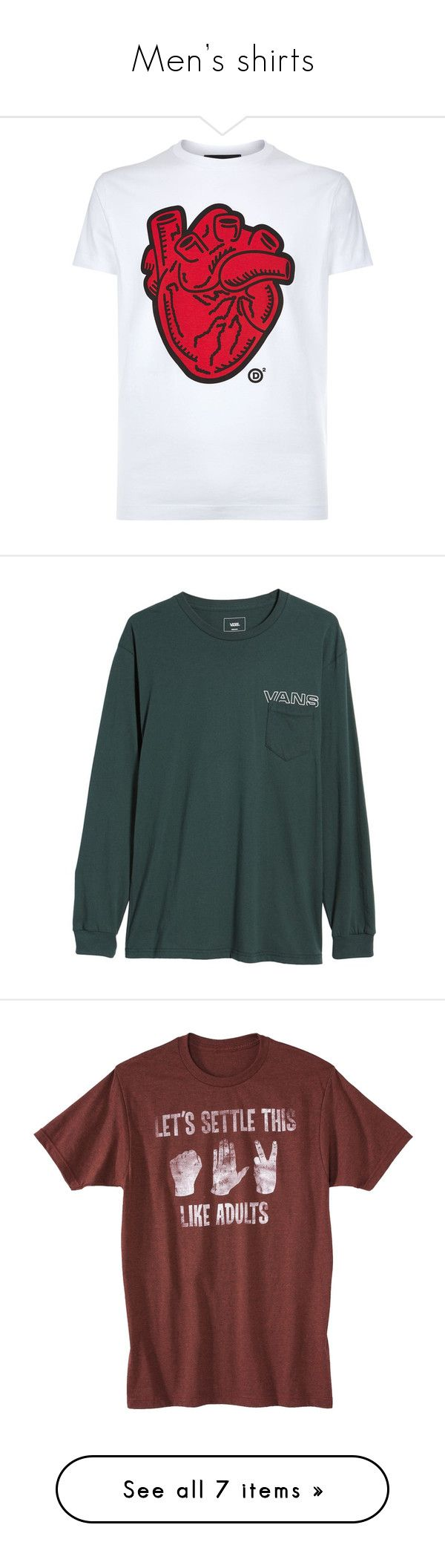 """""""Men's shirts"""" by just-the-shelleys ❤ liked on Polyvore featuring men's fashion, men's clothing, men's shirts, men's t-shirts, mens slim fit shirts, mens slim shirts, mens graphic t shirts, mens crew neck t shirts, mens cotton shirts and tops"""