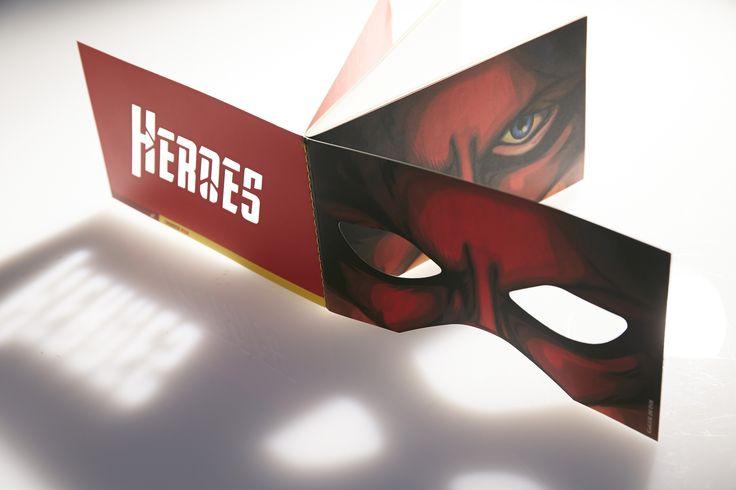 Unleash your inner super power - Hero Notebook!