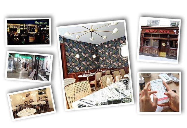 Para quem está em Paris ou planeja vir em breve a agência global de RP @kcdworldwide divide alguns bons endereços hot da cidade: acima à esquerda o @fitzgerald.paris bar pequeno porém com bons cocktails; logo abaixo a farmácia 24 horas Drugstore des Champs Elysées (aberta também aos domingos); em seguida @marzoparis pizzaria chique em Saint-Germain. Ao centro o famoso @clovergrillparis restaurante do grande chef @jeanfrancoispiege; acima à direita o @dirty_dick antigo cabaré transformado em…