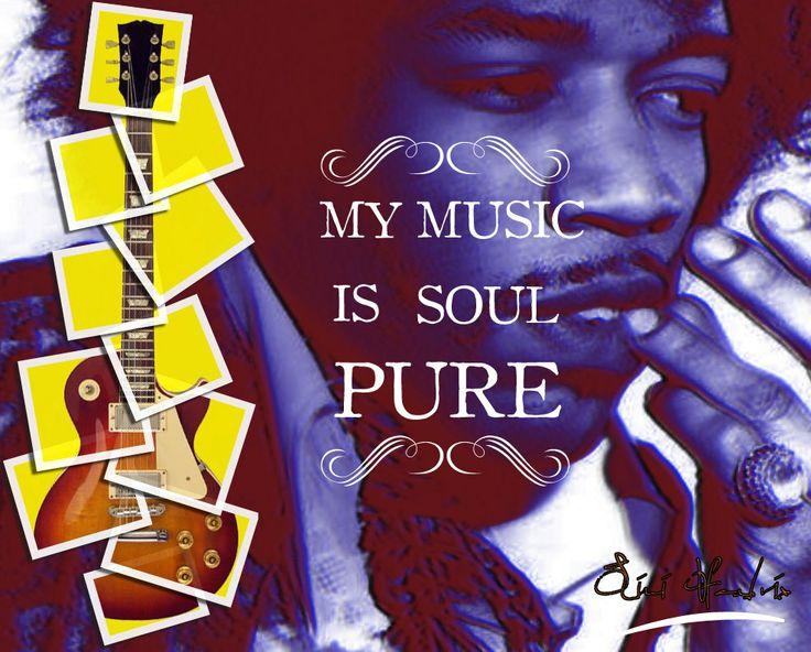 Ensaio 3D Jimi Hendrix #photoshop #design #music #artist