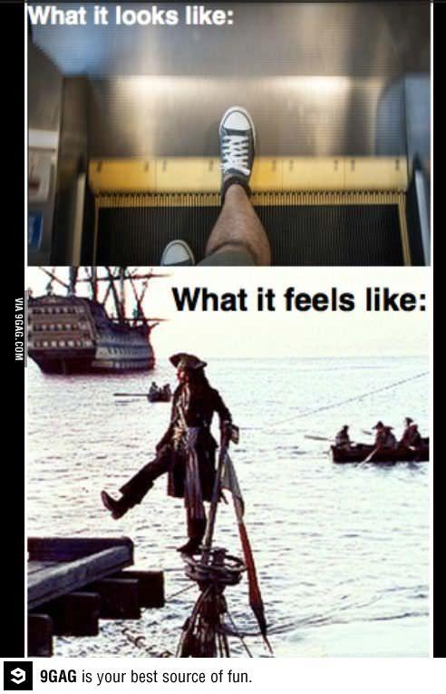 Escalators: Every time