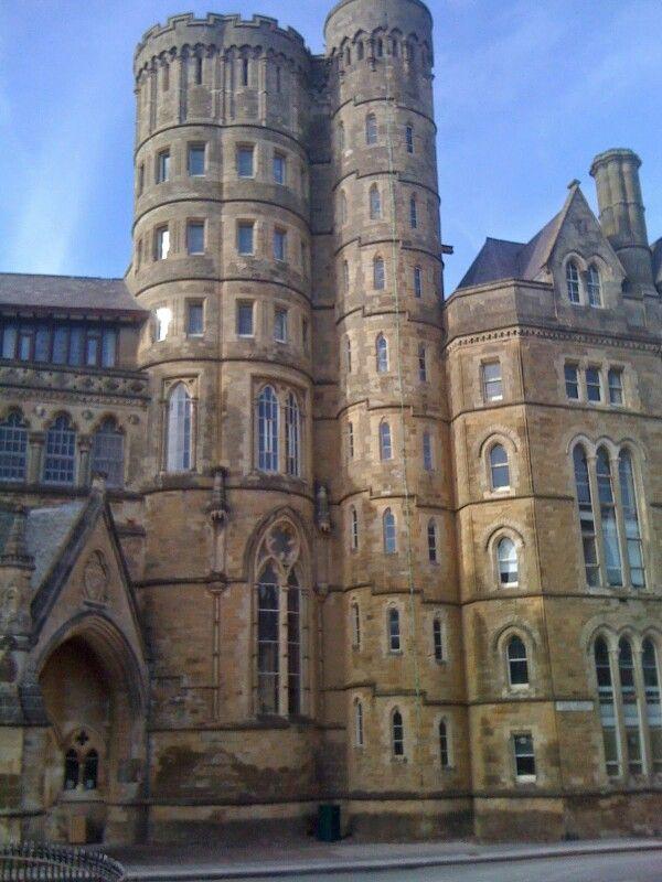 Old University building, Aberystwyth.