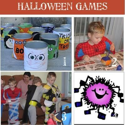 15 Indoor Halloween Games for Children  -- cute for class Halloween party :)
