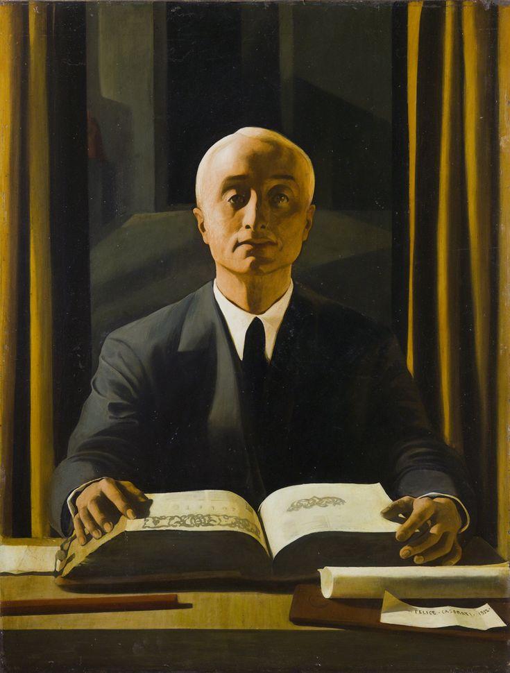Felice Casorati - Ritratto di Riccardo Gualino, 1922 - Collezione privata