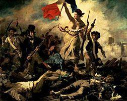 La Liberté guidant le peuple - Delacroix - Louvre - 19è - Romantisme