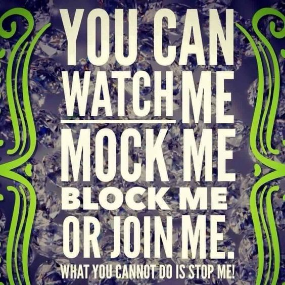 I Am Determined. And I Want You To Join Me Too!