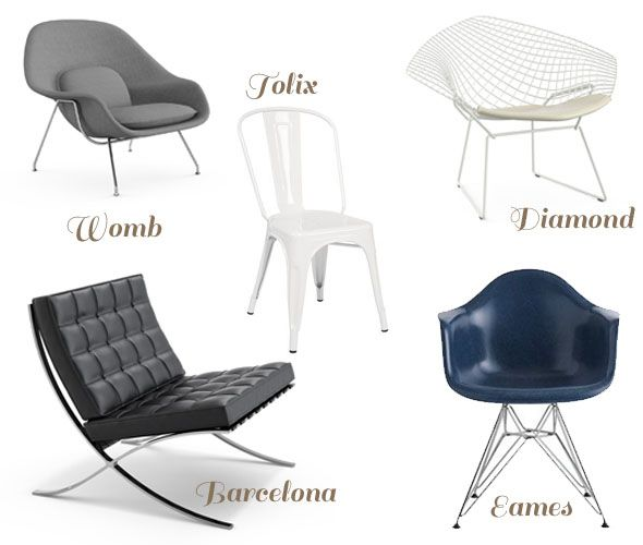 httpswwwgooglebesearchq20th century design chairs chairs pinterest sedie ricerca e design - Iconic Chairs Design