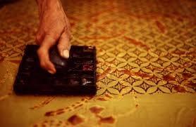 """making of printed 'kawung"""""""