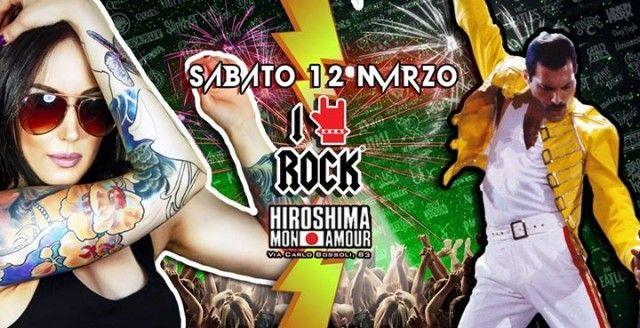 I LOVE ROCK Party - Sabato 12 Marzo @HIROSHIMA MON AMOUR (Via Carlo Bossoli 83),! by I love rock dalle 22! La one night cult di Torino ritorna a marzo in una versione r... http://www.360-gradi.it/eventi/