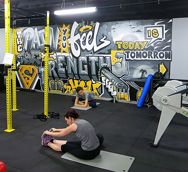 Interior Design Ideas For Home Gym: The Paint You Feel Today Is The Strength You Feel Tomorrow