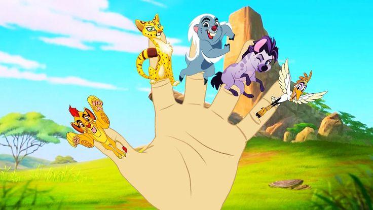 The Lion Guard Finger Family Song for Children