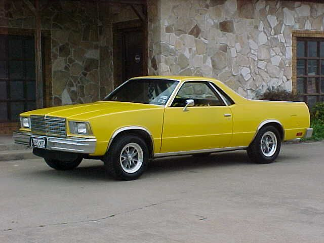 Chevrolet El Camino | Another Manic Monday Mix, On Monday This Time! | RangeleyMoose ...