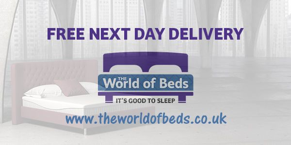 #FREE Next Day Delivery! www.theworldofbeds.co.uk  #website #buy #online #shop #bedroom #accessories