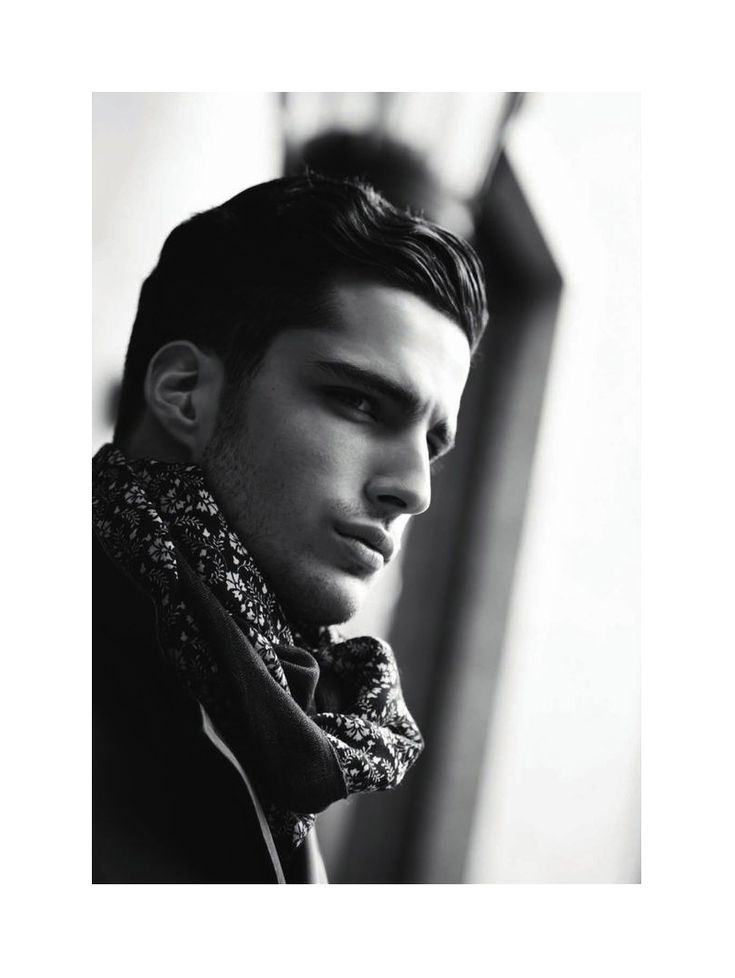 Janice Fronimakis by Giovanni Gastel for Canali Fall 2011