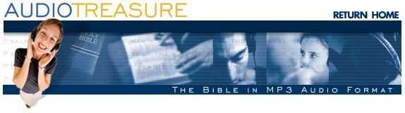 audio bible king james version like to listen while cooking or doing dishes even while surfing the web.   http://www.audiotreasure.com/indexKJV.htm