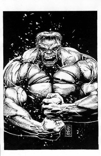 The Incredible Hulk by Eddie Newell