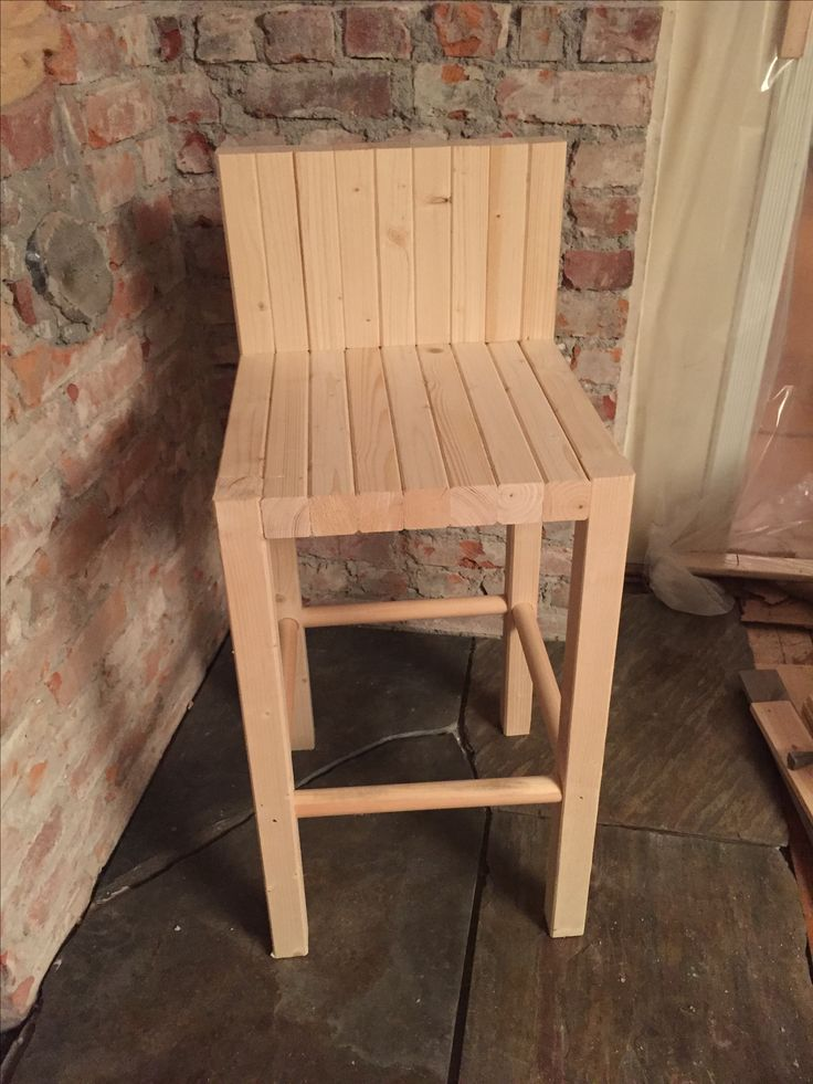 "Wooden bar chairs i 2""x2"""
