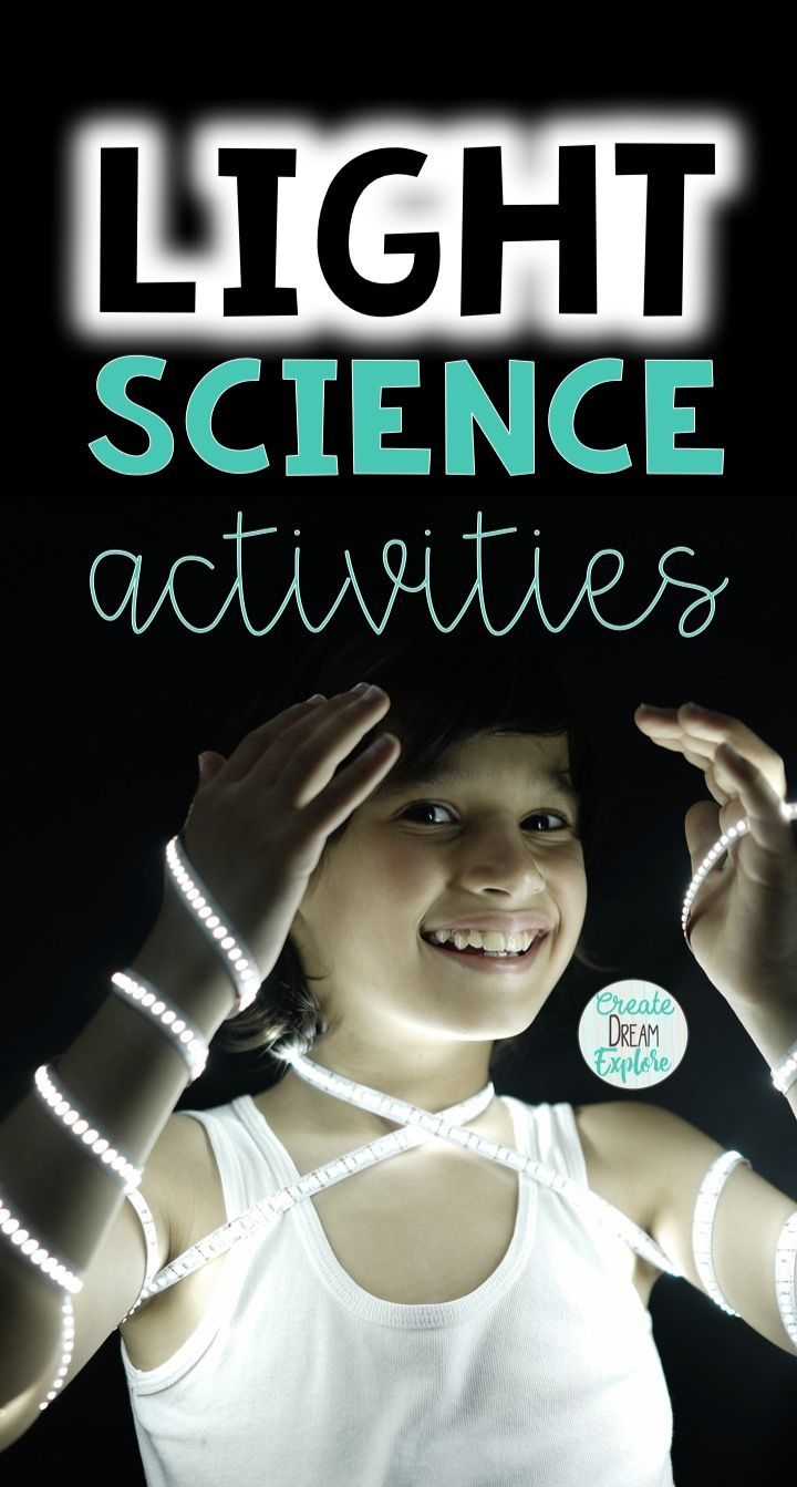 Science Activities For Teaching about the Properties of Light. These light science lessons, experiments and anchor charts are great for most grade, especially 3rd and 4th grade science.  - Create Dream Explore