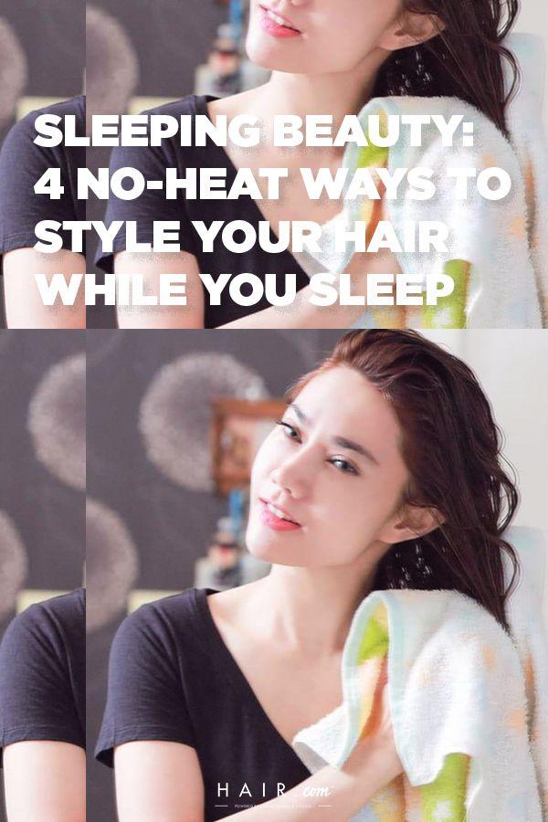 Style Your Hair While You Sleep Beach Wave Hair Hair Styles Your Hair