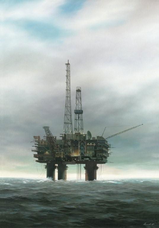 Keith Alexander, Oil Rig
