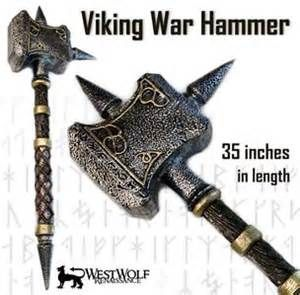 Details about VIKING WAR HAMMER - Practice Weapon - sca/larp/lotr NEW