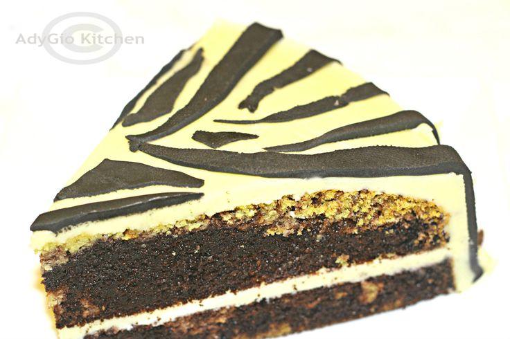 Reteta tort zebra-Retete tort si prajituri de casa Adygio Kitchen